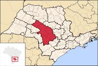 Mesorregião de Bauru; clique na imagem para ampliar