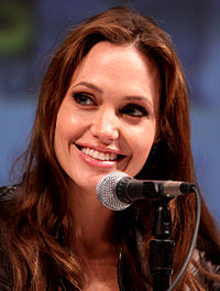 Jolie en el San Diego Comic-Con International Julio 2010.