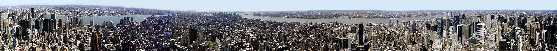 Panorama 360, Manhattan, Empire State Building