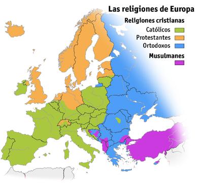 Religiones de Europa.