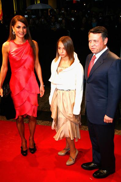 King Abdallah II of Jordania and Abdullah II of Jordan - Quantum of Solace Paris Premiere - Red Carpet Arrivals