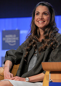 Queen Rania - World Economic Forum Annual Meeting Davos 2008.jpg