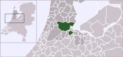 Localización de Amsterdam