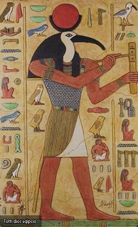 Toth dios egipcio