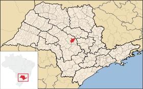 Localização de Jaú