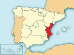 Localització del País Valencià respecte Espanya.svg