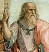 Plato from The School of Athens by Raphael, 1509