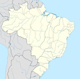Localização de Jaú em Brasil